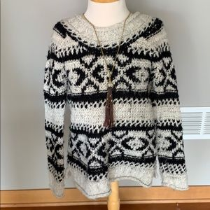 Women's free people roll neck sweater Small